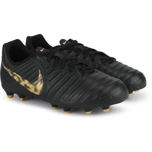 Nike Boys Lace Football Shoes(Black)