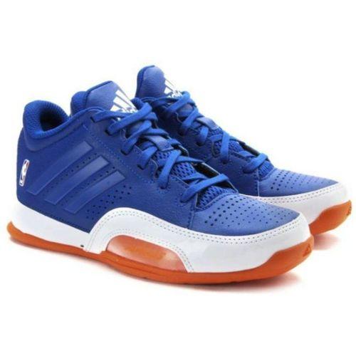 ADIDAS Boys Lace Basketball Shoes(Blue)