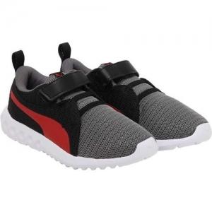 Puma Boys Velcro Sneakers(Grey)