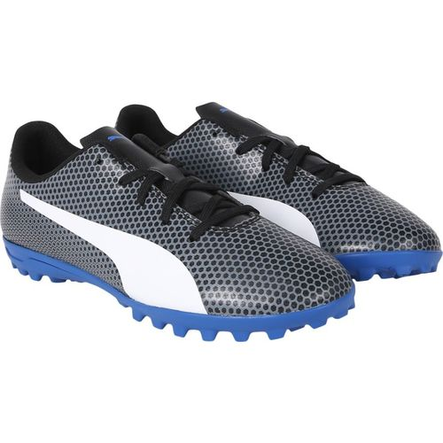 Puma Boys Lace Football Shoes(Black)