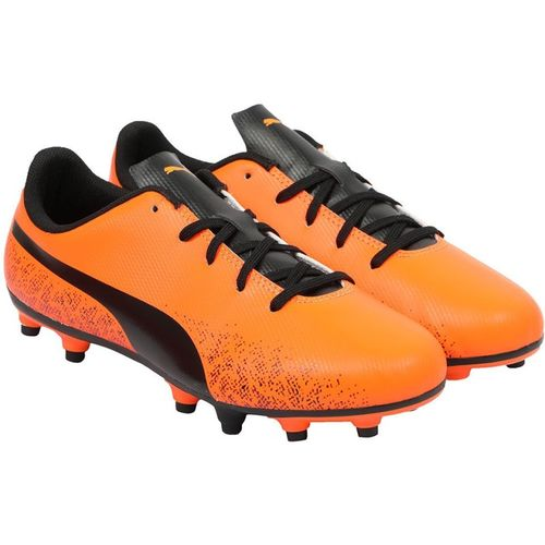 Puma Boys Lace Football Shoes(Orange)