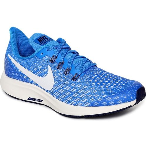 Nike Boys Lace Running Shoes(Blue)