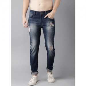 HERE&NOW Regular Men Blue Jeans