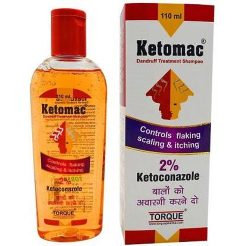 KETOMAC Shampoo (110 ml) pack of 2(110 ml)