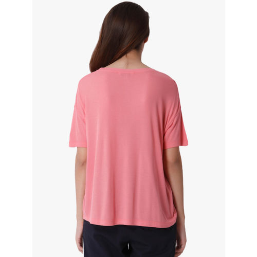 ONLY Pink Printed T Shirt