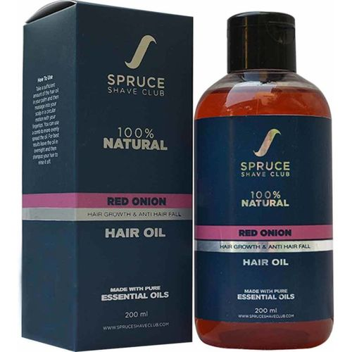 Spruce Shave Club Onion Oil For Hair Growth | 100% Natural | With 14 Natural Oils Hair Oil(200 ml)