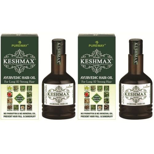 KESHMAX Ayurvedic Medicinal Oil (Pack of 2) Hair Oil(240 ml)