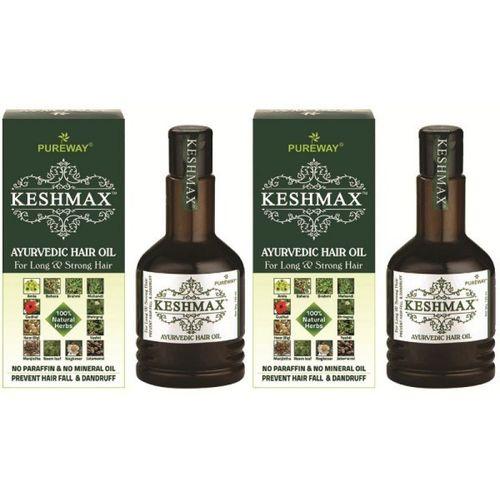 KESHMAX Ayurvedic Medicinal Oil (Pack of 2) Hair Oil(240 ml)