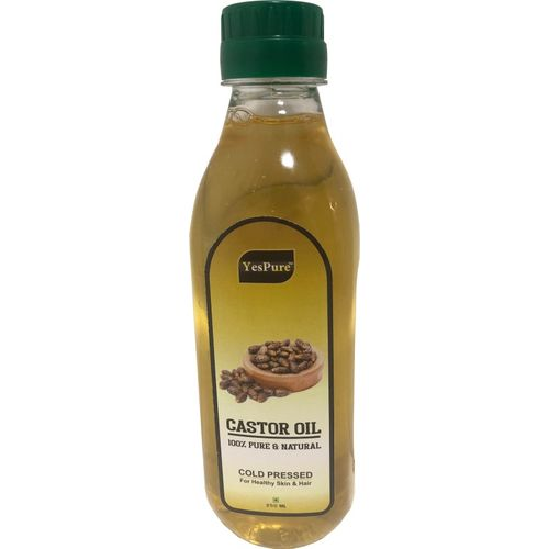 YESPURE CASTOR Oil ((100% Pure COLD PRESSED)) For HAIR GROWTH Hair Oil(250 ml)