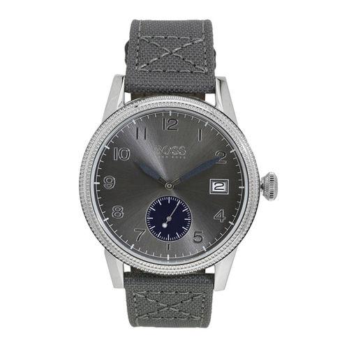 Hugo Boss Men Grey Analogue Watch 1513683