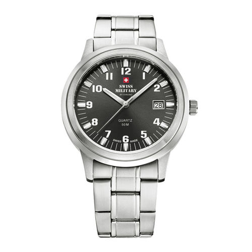 Swiss Military by Chrono Men Black Analogue Watch SMP36004.01