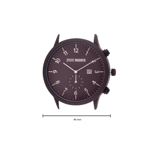 Steve Madden Men Brown Analogue Watch