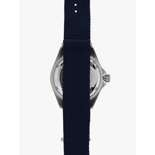 SWISS MILITARY Sea Lion 06-4279.04.007.03 Navy Blue/Black Analog Watch
