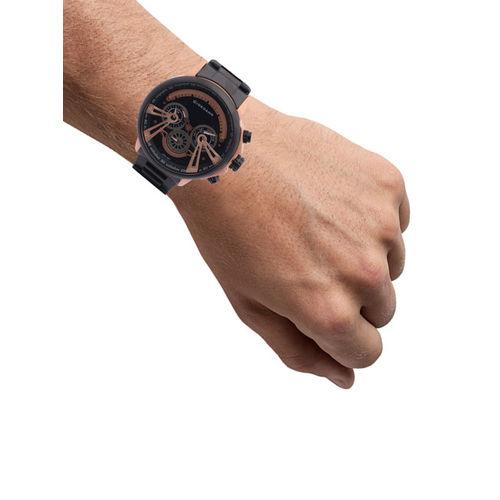 GIORDANO Men Black Analogue Watch C1101-44