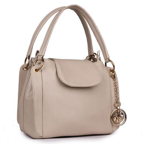 classic fashions Women Beige Hand-held Bag