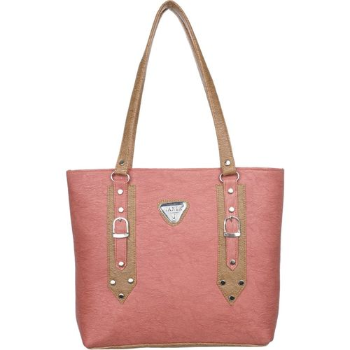 Janta Soft Women Brown, Pink Shoulder Bag