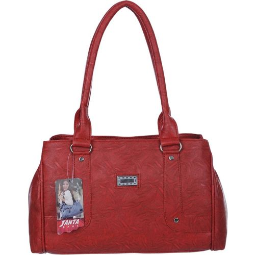 Janta Women Red Shoulder Bag