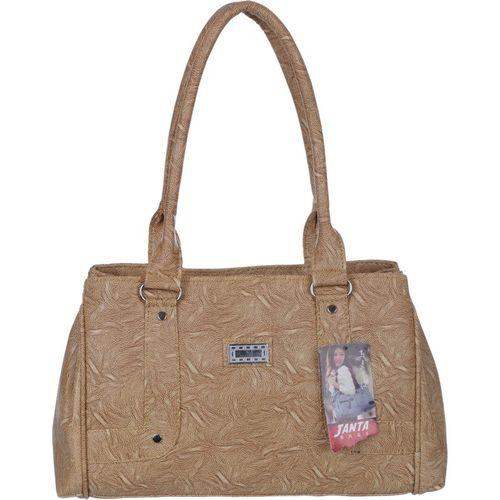 Janta Women Beige Shoulder Bag