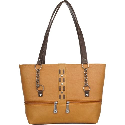 Janta Soft Women Tan Shoulder Bag
