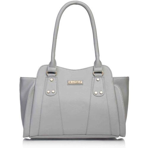 Aisna Women Grey Shoulder Bag