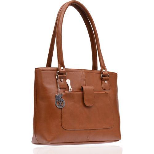 Belizza Women Tan Shoulder Bag