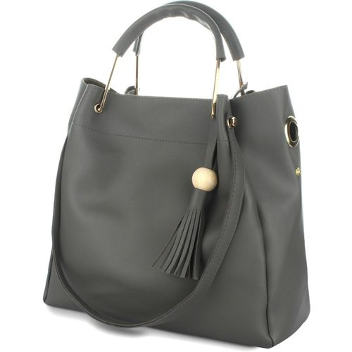 Rajni Fashion Women Grey Shoulder Bag