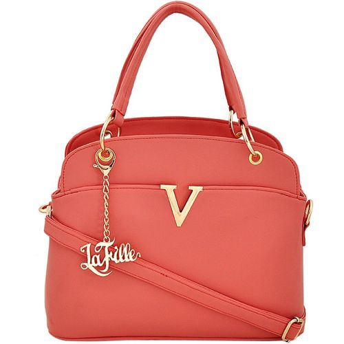 LaFille Women Orange Hand-held Bag