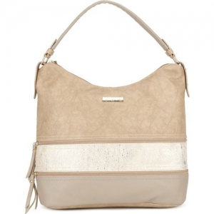 Remanika Women Beige Hobo