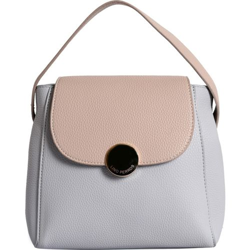 Lino Perros Women Grey, Beige Shoulder Bag