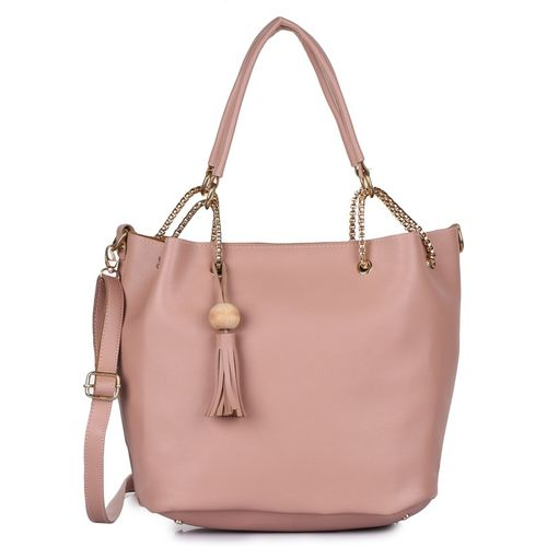 Craveforit Women Pink Shoulder Bag