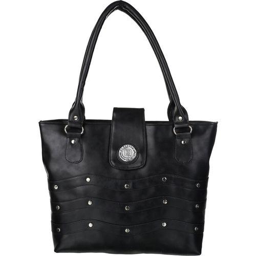 Al Jazeera Women Black Shoulder Bag