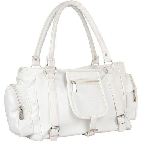 Mountrex Women White Hand-held Bag