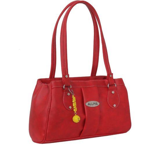 Alliya Women Red Shoulder Bag