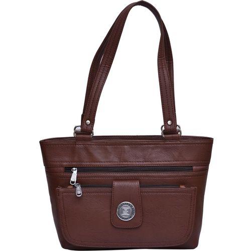 Al Jazeera Fashion Women Brown Shoulder Bag