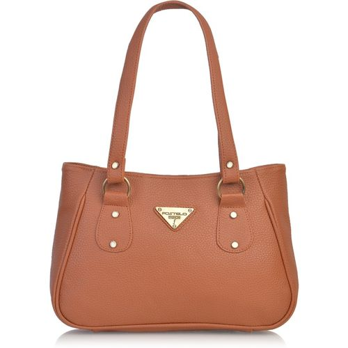 Fostelo Women Tan Shoulder Bag