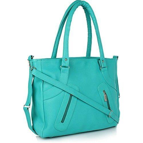 SCORIA Women Green Shoulder Bag