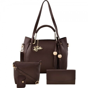 LaFille Women Brown Hand-held Bag