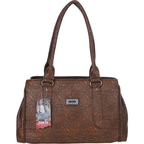 Janta Soft Women Brown Shoulder Bag