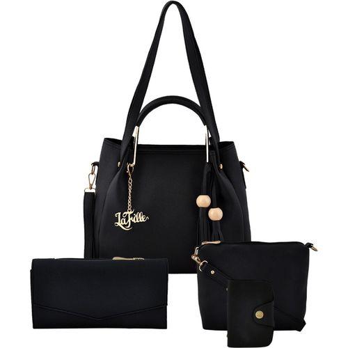 LaFille Women Black Hand-held Bag