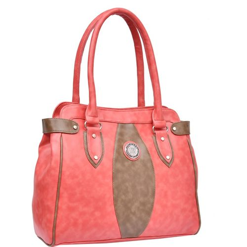 Al Jazeera Women Pink, Khaki Shoulder Bag