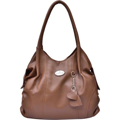 Al Jazeera Women Brown Shoulder Bag