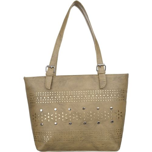 Janta Soft Women Beige Shoulder Bag