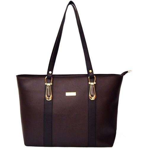 AGINOS Women Brown Hand-held Bag