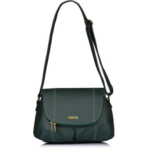 Fostelo Women Green Shoulder Bag