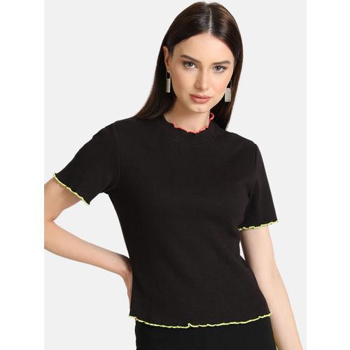 Kazo Women Black Solid Top