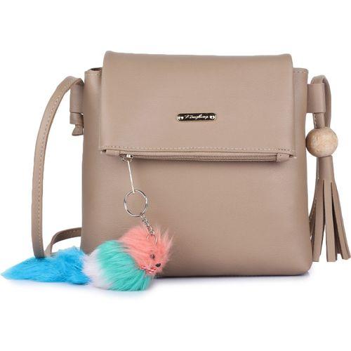 Vogue Street Beige Sling Bag