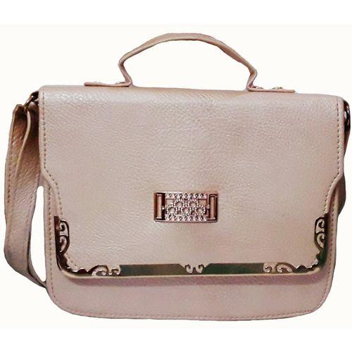 Rosy Beige Sling Bag