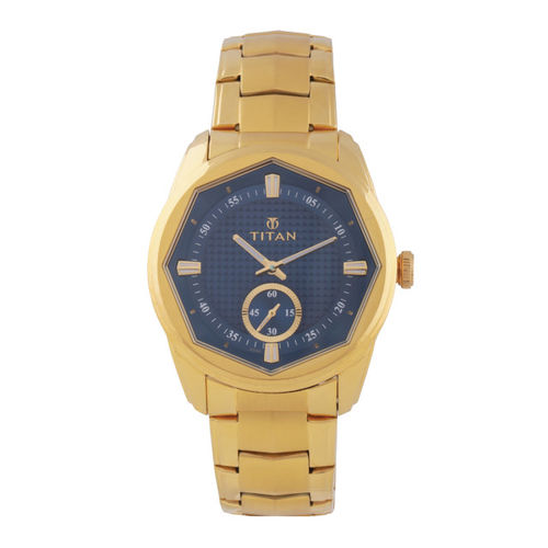 Titan Men Blue Analogue Watch 1749YM01