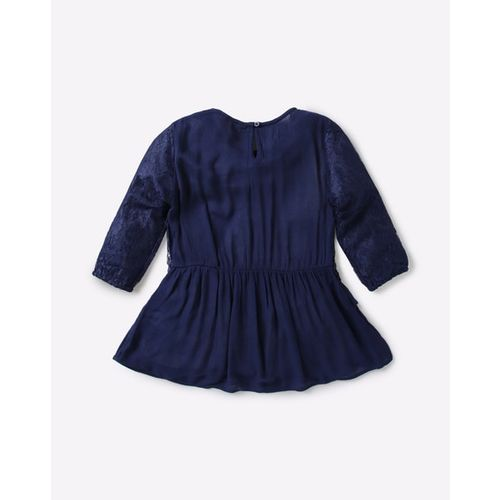 POINT COVE Layered Lace Top