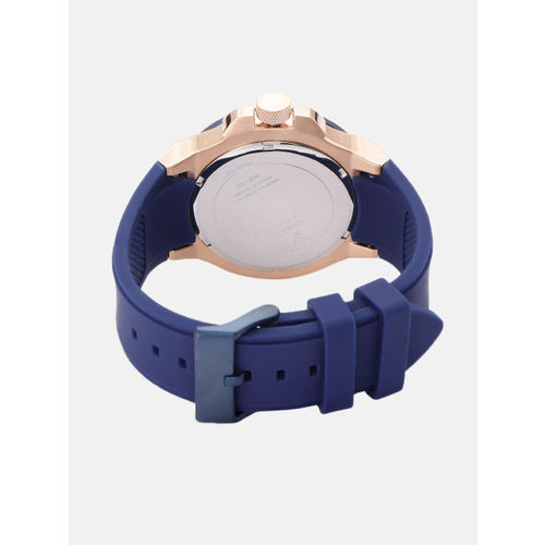 GUESS Men Navy Blue Analogue Watch W0247G3_OR